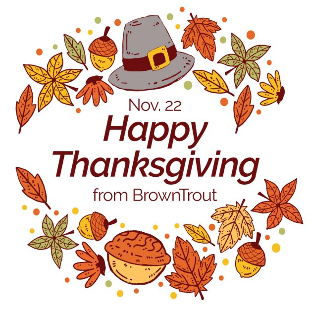 Thanksgiving Offer of BrownTrout Calendars