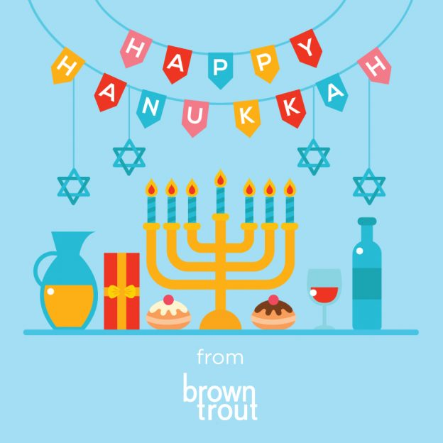 Hanukkah Sale of BrownTrout Calendars